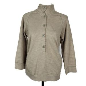 J. Crew Sweaters - J Crew Rustic french terry pullover